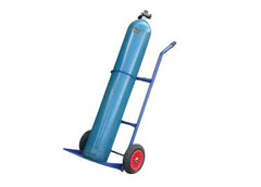 Medical Cylinder Trolley both in Steel & Aluminium